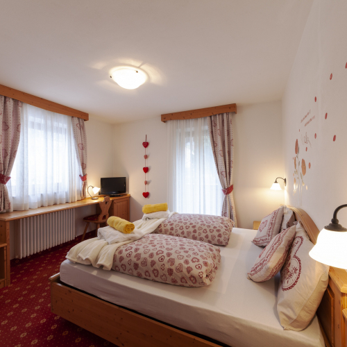 Camera Romantic Hotel Tirol