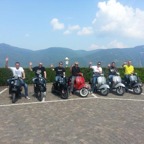 Vespa biker-hotel-tirol