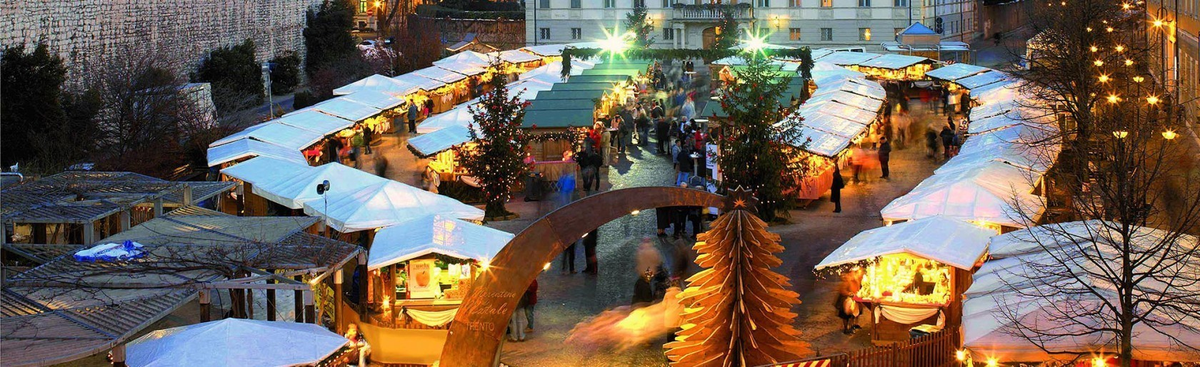 Mercatini di Natale in Trentino: Trento, Val di Fiemme e Valsugana