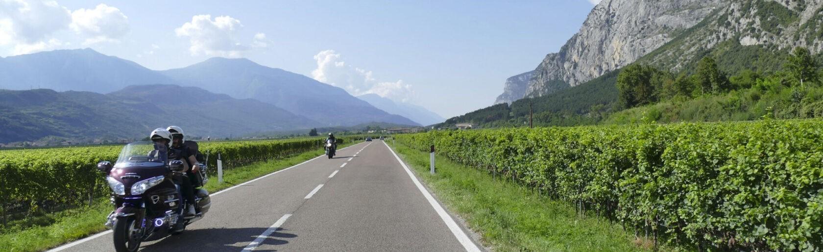 Tour in moto in Trentino Alto Adige